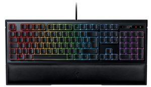 Razer Ornata Chroma - Gaming Clavier Gaming avec fil, USB, Clavier à membrane - RGB Rétroéclairage- Noir